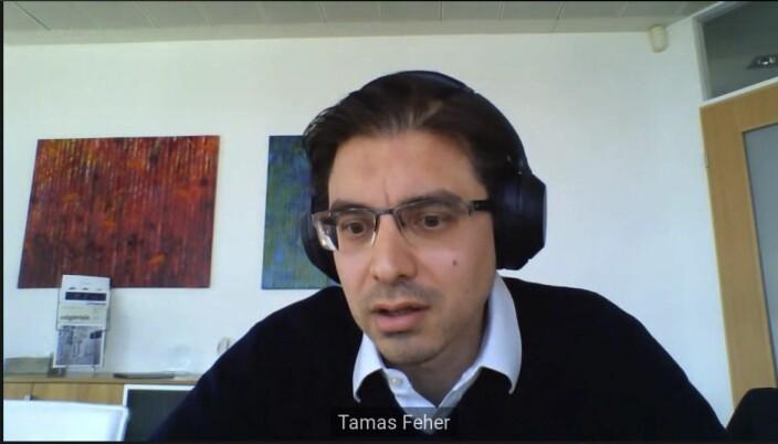 Advokat i Ungarn, Tamás Fehér, vitnet for staten i denne mer eller mindre heldigitale rettssaken.