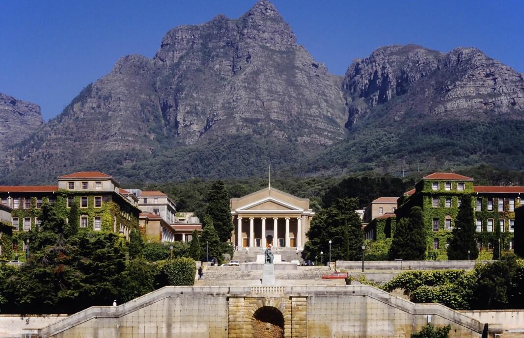 University of Cape Town i Sør-Afrika slik det til nå har sett ut.