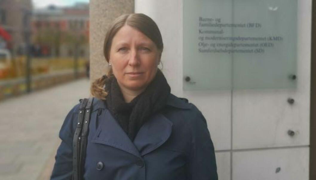 Guro Lind, leder i Forskerforbundet og forhandlingsleder for Unio i staten valgte å bryte lønnsforhandlingene halvannet døgn før fristen gikk ut.