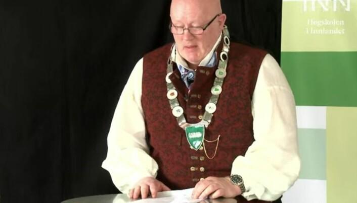 Ny rektor: Peer Jacob Svenkerud.