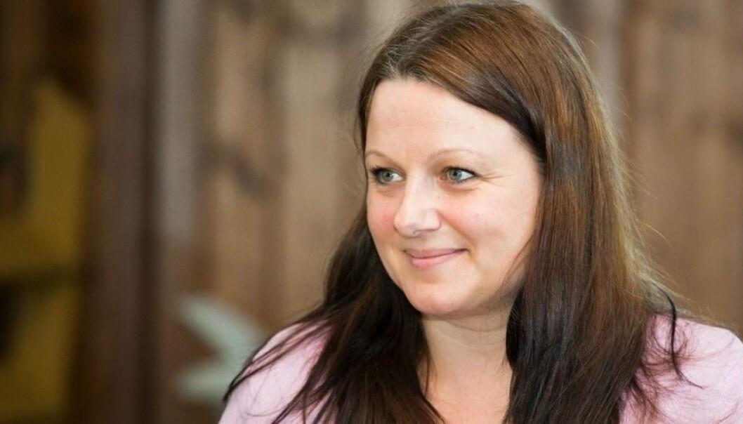 Lena Marie Kjøbli er leder for Forskerforbundet ved NMBU.