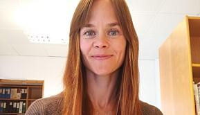 Stipendiat ved Norges idrettshøgskole, Marte Knutsson.