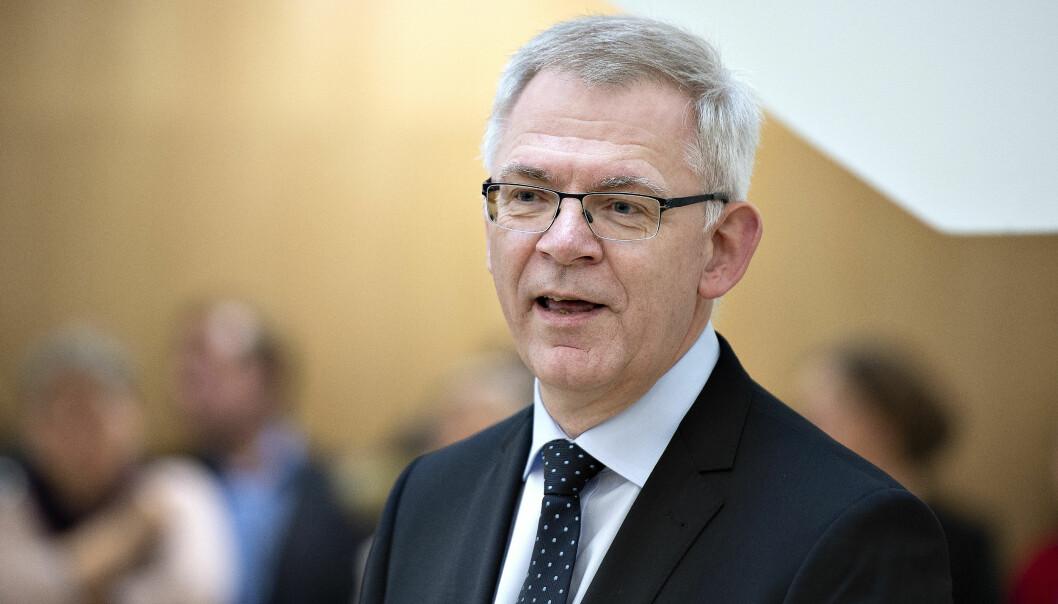 Rektor Brian Bech Nielsen er i hardt vær etter en forskningsskandalesak ved Aarhus Universitet.