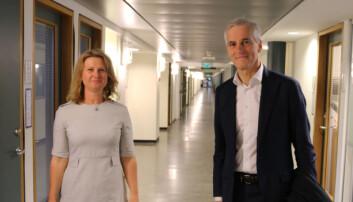 Prodekan ved UiO, Gunn Enli med podkasten Undervisningsplikten, hadde besøk av Jonas Gahr Støre denne veka.