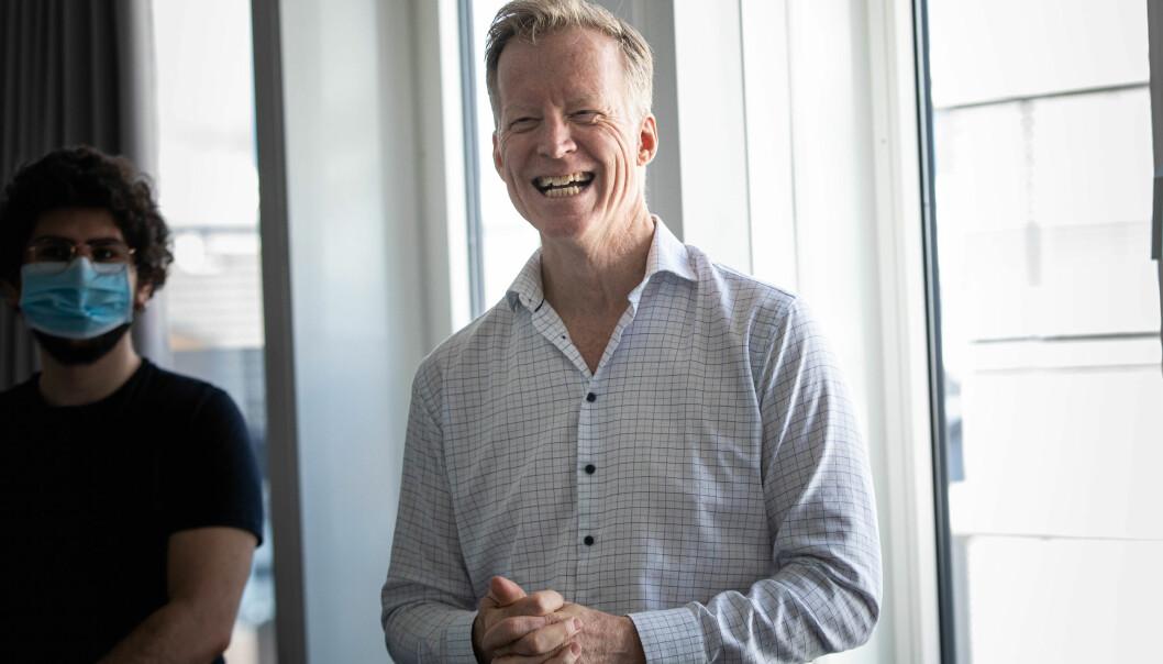 Curt Rice hadde sitt siste styremøte ved OsloMet torsdag og fredag. Der fikk han flertallet i styret med seg på å ansette ny rektor, og det fram til 2027. - Ansatt rektor er en god modell som har tjent OsloMet vel, sa han.