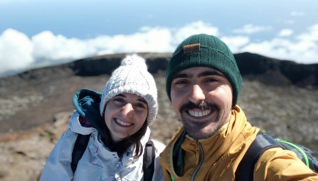 Ana Theresa Capucho og Pedro Cunha skal etter planen reise til Oslo søndag.