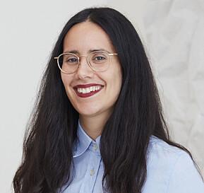 Elisabeth Garcia Gonzalez stiller til valg som representant for midlertidig ansatte.