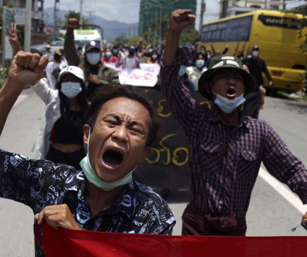 Ber Søreide bla opp ekstra midler for utsatte studenter fra Myanmar etter kuppet
