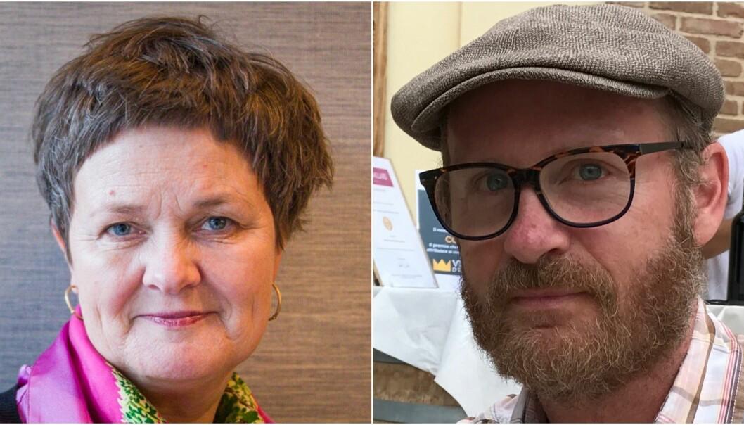 NTNU-dekan Anne Kristine Børresen og seniorrådgiver i Universitets- og høgskolerådet Vidar Røeggen sitter i publiseringsutvalgets arbeidsutvalg. De lanserer nå et helt nytt nivå.