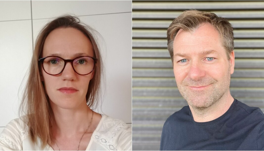 NTL-representant Mona Østby og Forskerforbundet-leder Kristoffer Rørstad i Nifu reagerer på tidsbruken. De er også begge berørt av denne virksomhetsoverdragelsen og sier det er en stor belastning for de ansatte.