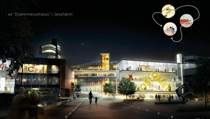 Over 2000 studenter kan få plass på «drømmecampusen» på Jessheim