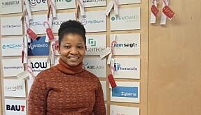 Nancy Saana Banono jobbet ved Theracule i tre måneder.