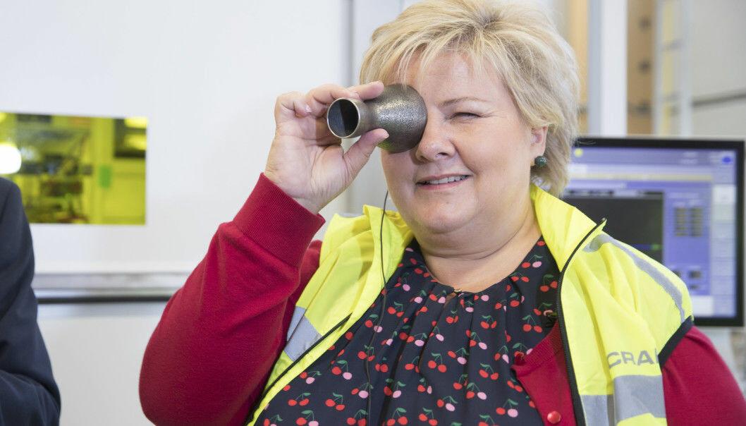 I 2017 startet statsminister Erna Solberg valgkampen i Raufoss industripark med å sikte seg inn mot å bruke en milliard kroner på muliggjørende teknologi til forskning. Nå virker det som om hun og Høyre har mistet forskningen av syne.