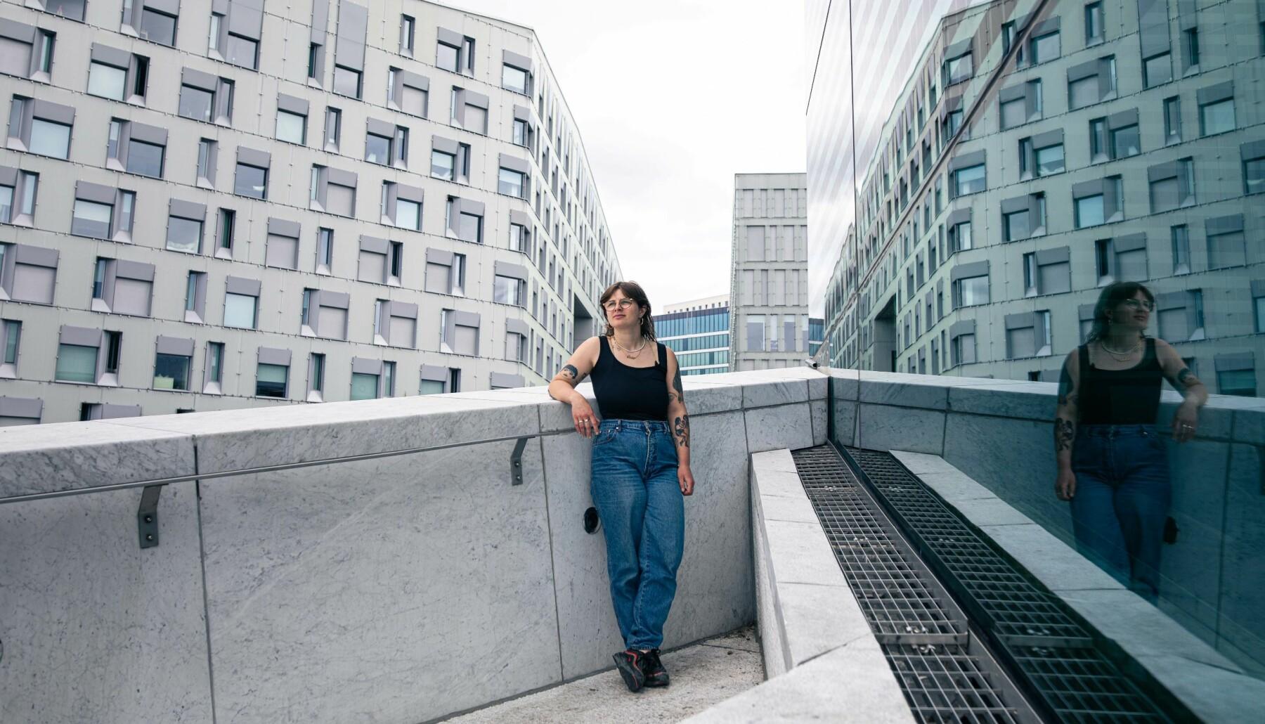 Oslo 11.06.2021 – Sigrid Elise Høeg bak