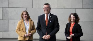 Brekke og Tveiterås blir prorektorer ved UiT