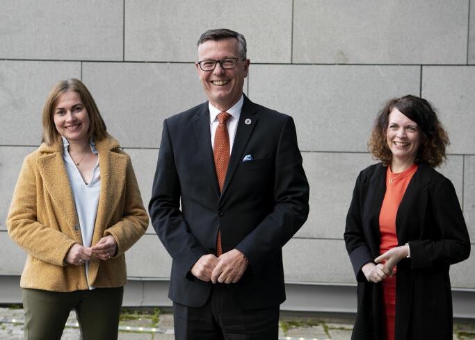 Her er påtroppende rektorat i Tromsø