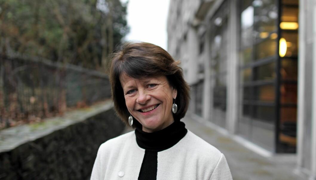 Gunn Mangerud har vært både instituttleder og visedekan, og skal nå være øverste leder for Det matematisk-naturvitenskapelige fakultetet ved UiB, første kvinnelige dekan der.