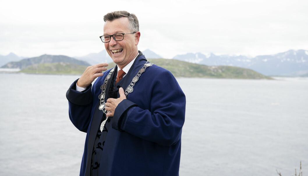 Påtroppende UiT-rektor Dag Rune Olsen går opp noen titusener i lønn når han starter i jobben 1. august.