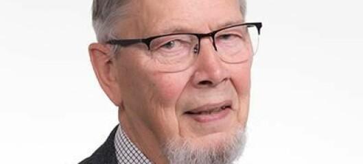 Historieprofessor Audun Dybdahl er død