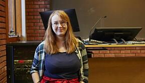 Christina Eide, styreleder Det Norske Studentersamfund.