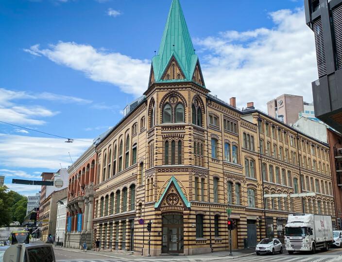 St. Olavs gate 23, Oslo-studentenes nye studenthus
