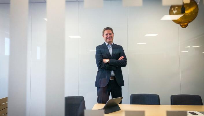 Sveinung Skule tiltrådte som direktør i det nye HK-direktoratet 1. juli.