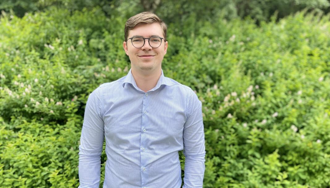 Sebastian Hytten, nyvalgt president i ANSA.