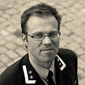 Harald Høiback, nestkommanderende ved Forsvarets museer.