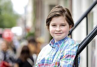 Laurent (11) har en bachelor i fysikk. Målet er udødelighet