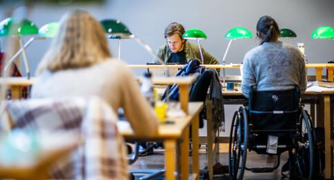 Publiserer poenggrensene for master for første gang. Se listen fra Universitetet i Oslo