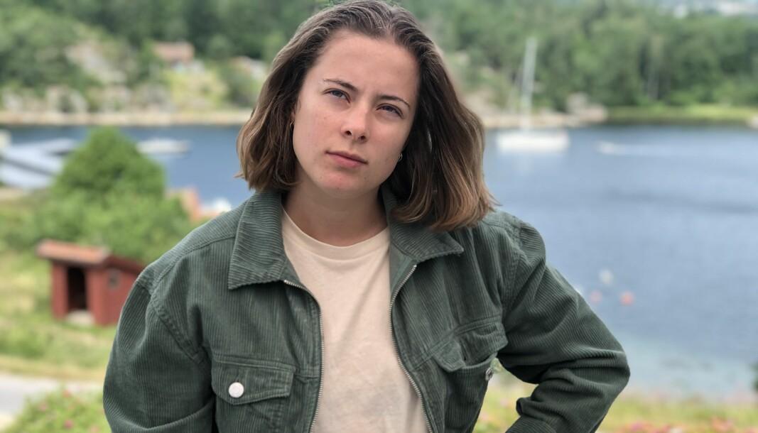 Sykepleierstudent Karina Roksvåg Skjold (21) skulle bare ta opp igjen en eksamen.