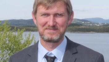 Leder for Institutt for fysikk og teknologi, Øyvind Frette.