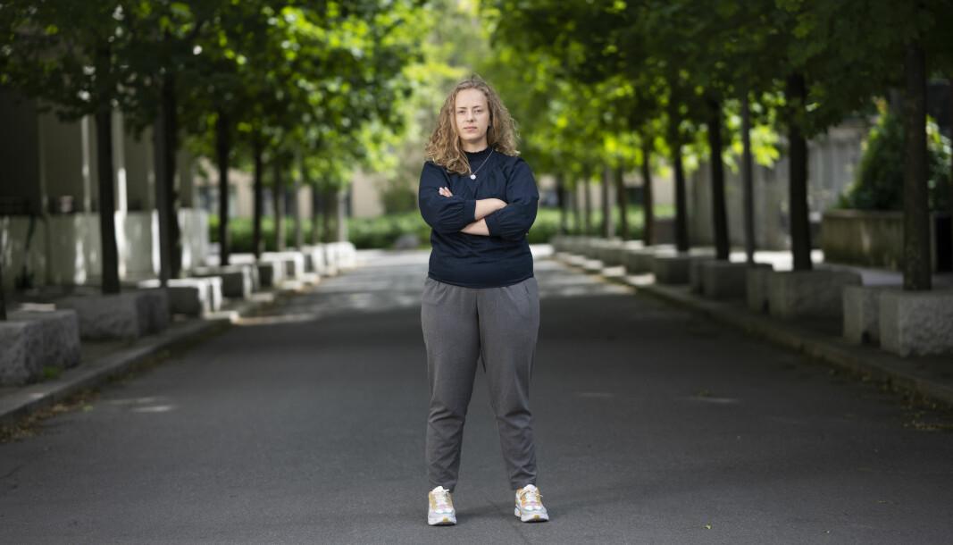 Leder for Nors studentorganisasjon, Tuva Todnem Lund, er bekymret for at det fortsatt er tusenvis av studenter på venteliste for å leie studentbolig.