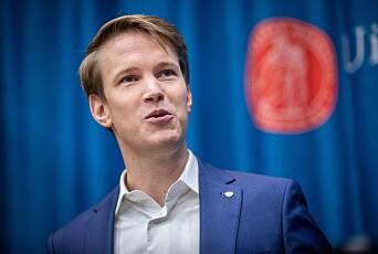 Torstein Tvedt Solberg er utdanningspolitisk talsperson i Arbeiderpartiet. Foto: Siri Øverland Eriksen
