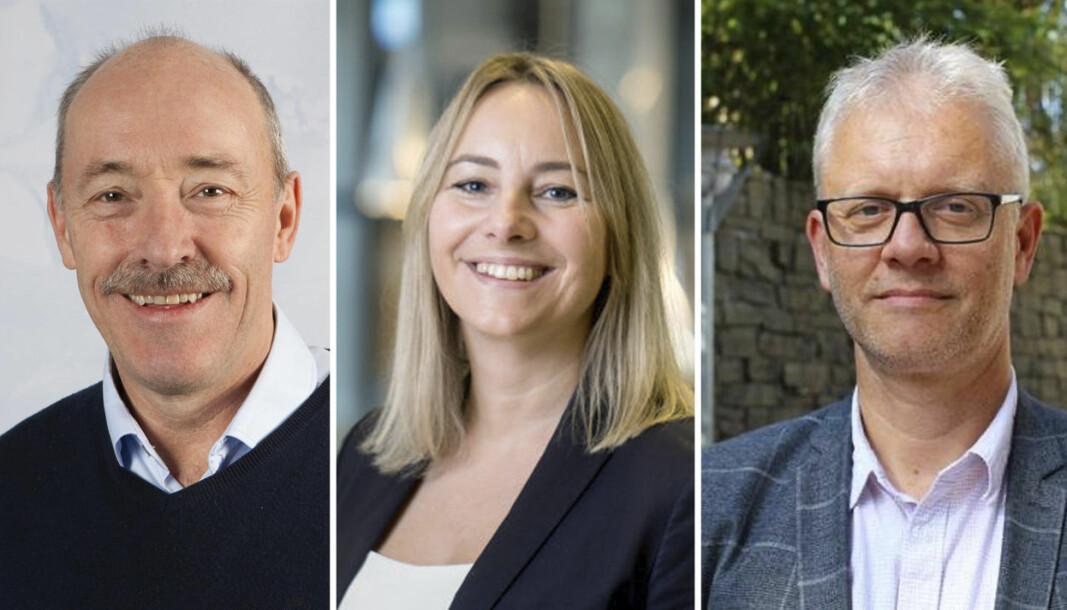 Ole Arve Misund, Gro Anita Fonnes Flaten og Nils Gunnar Kvamstø har søkt jobben som havforskningsdirektør.