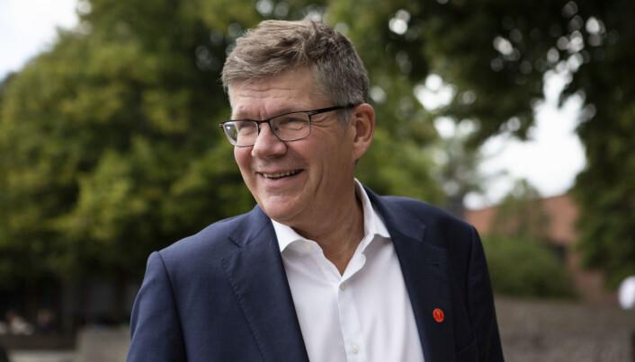 Rektor Svein Stølen ved Universitetet i oslo
