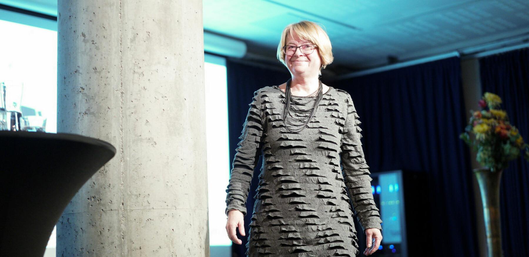 Berit Kjeldstad rykker opp fra styremeldem til posisjon som styreleder ved Høgskolen i Østfold.