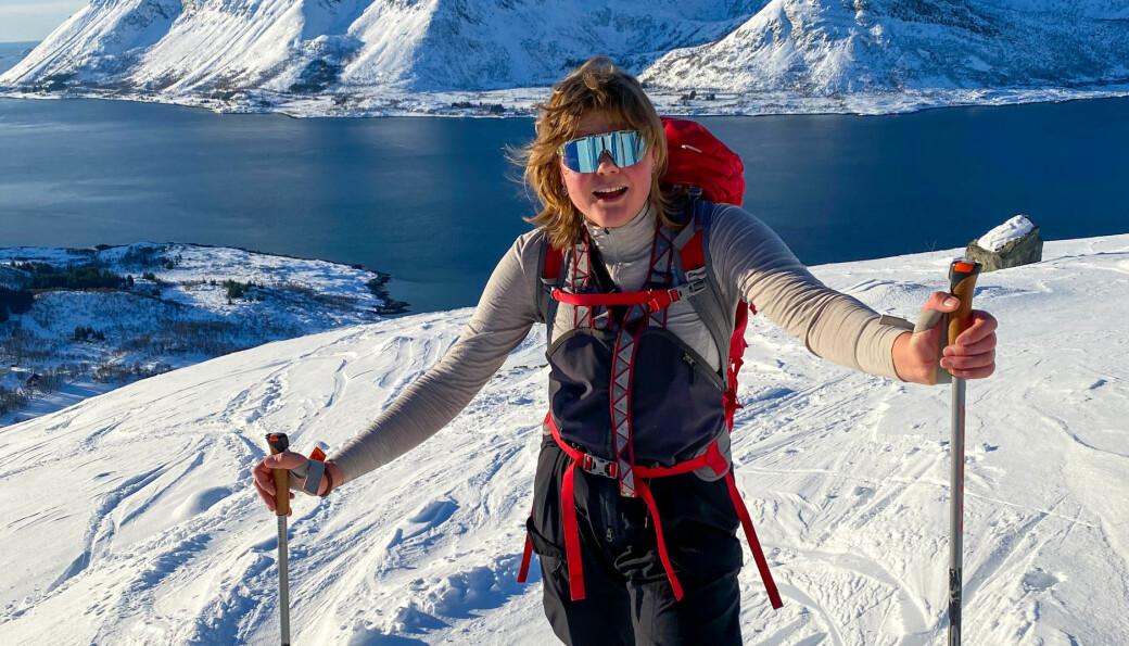 Guro Sandvin Groven er ikke ukjent med det å være ute i det fri. Erfaringene hun har opparbeidet seg gjennom et innholdsrikt år som elev ved Lofoten Folkehøgskole kommer godt med når hun tar fatt på turen fra Lindesnes til Nordkapp i januar.
