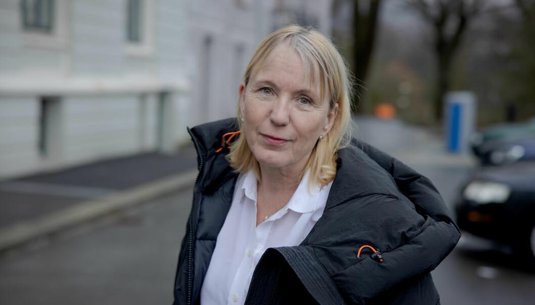 Vi ser ut til å tape 90 millioner kroner, sier rektor Margareth Hagen ved Universitetet i Bergen.