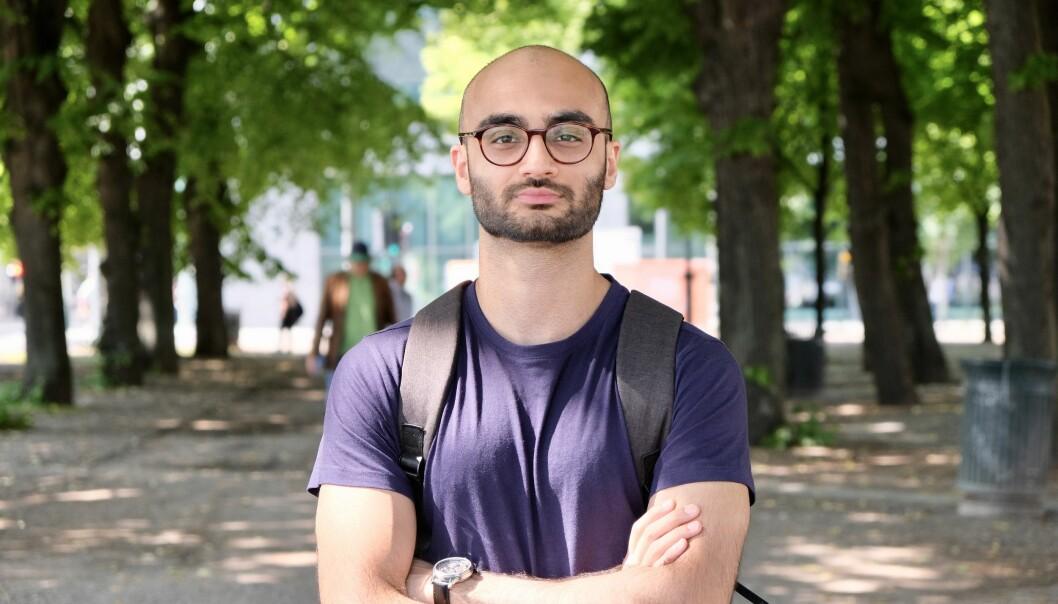 Arham Sheikh er medisinstudent og vil endre opptakskravene.