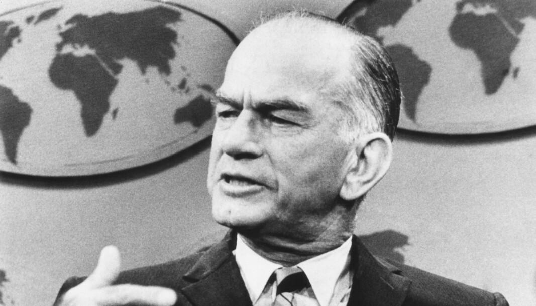 Opphavsmannen bak Fulbrightprogrammet, senator J. William Fulbright.