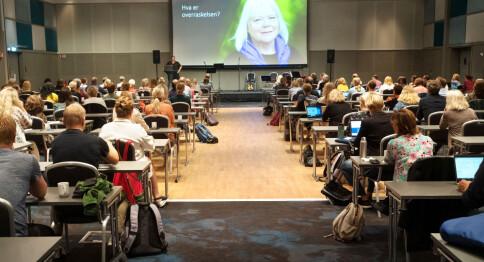 Lett euforisk for nær 200 lærerutdannere på fysisk seminar