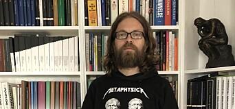 Filosofi-professor Einar Duenger Bøhn er ein av seks professorar i ekspertgruppa.