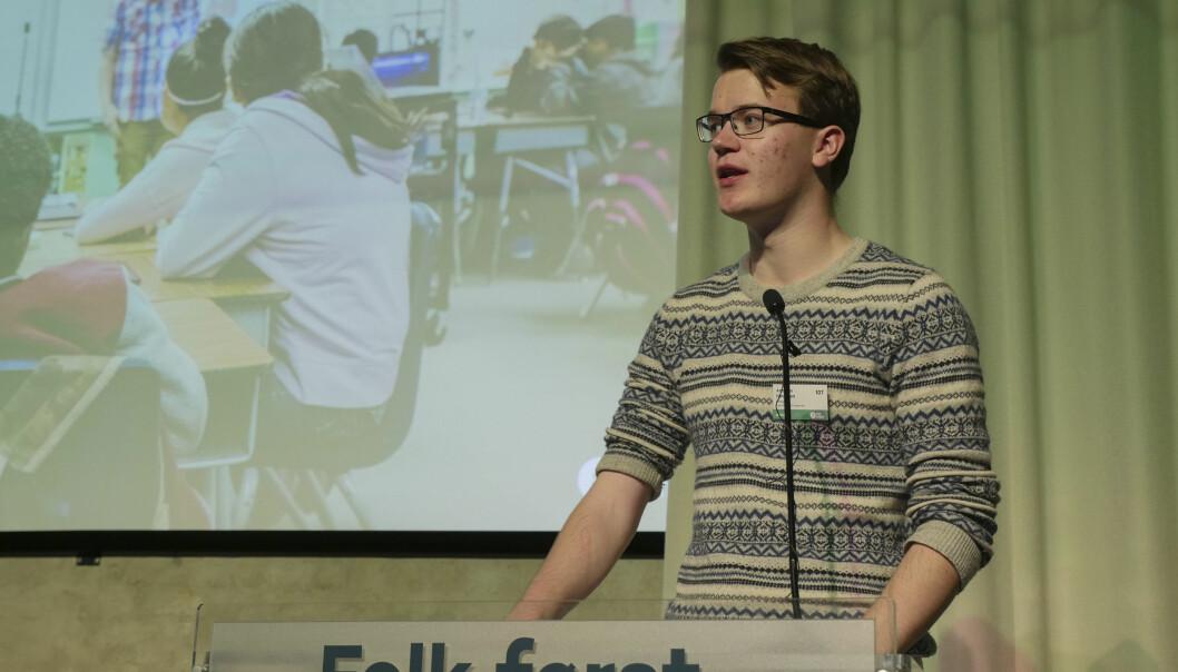 — Venstre er på lag med studentene, fordi studentene er framtida. Vi har vært og skal alltid være studentenes vaktbikkje, skriver Anders Hammer Håversen fra Norges liberale studentforbund.