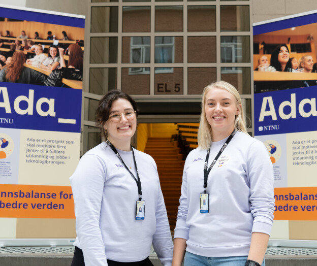 Jenteprosjektet Ada feiret rekordopptak ved NTNU