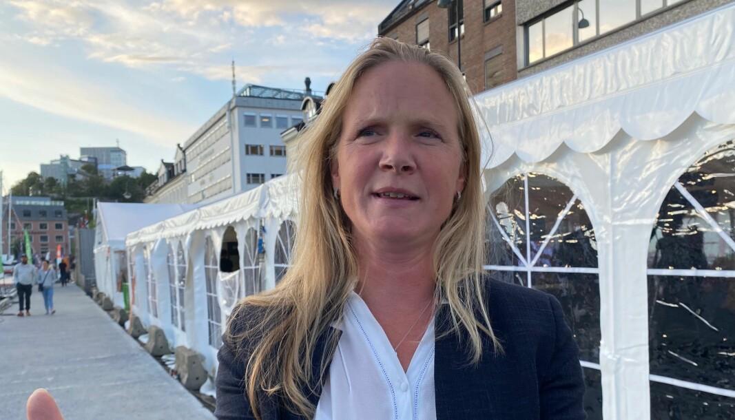 Mari Sundli Tveit, direktør for Forskningsrådet mener ordningen for studentinnovasjon har best av å fortsette i rådets portefølje.1