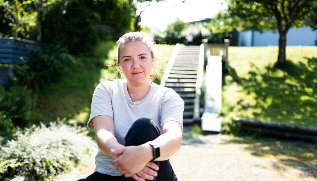 Sosionomstudent Marthe Rygg Johnsen er skuffa over at ho ikkje får gjere praksisen på draumeplassen sin, Sollund.