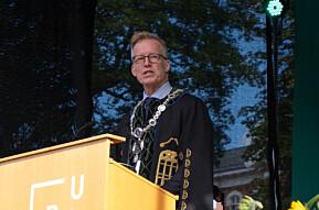 Rektor ved NMBU, Curt Rice har fått innvilget en retrettstilling.