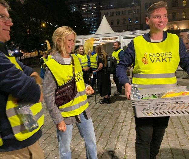 Rolig fadderukenatt i Oslo: — Høflige studenter og lite fyll