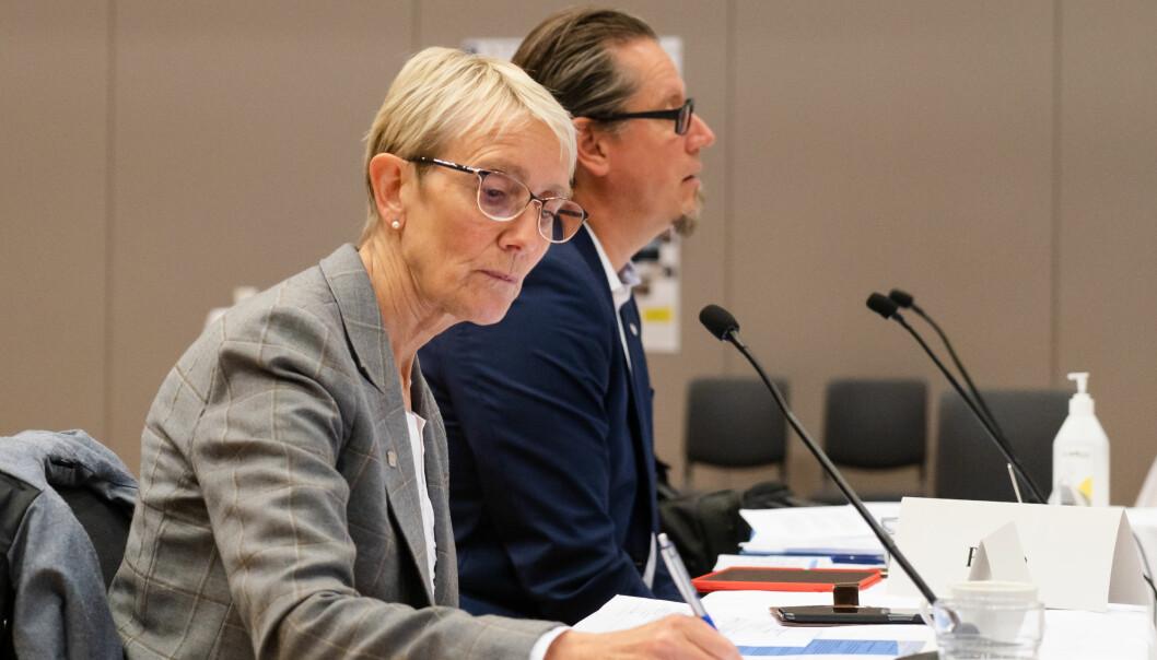 Rektor Anne Borg ber strudentene avlyse alle fadderarrangementer og sosiale aktiviteter.
